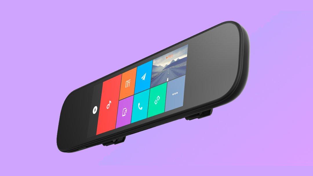 Xiaomi предлагает умное автомобильное зеркало MiSmart RearView Mirror
