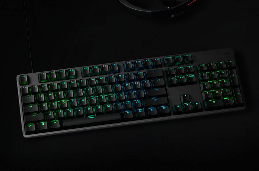 Новая игровая клавиатура отXiaomi сRGB-подсветкой