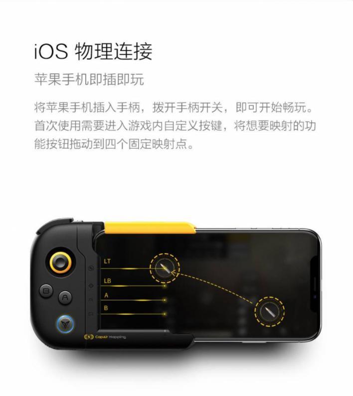 Xiaomi выпустила геймпад WASP-N/WASP-X только для iPhone