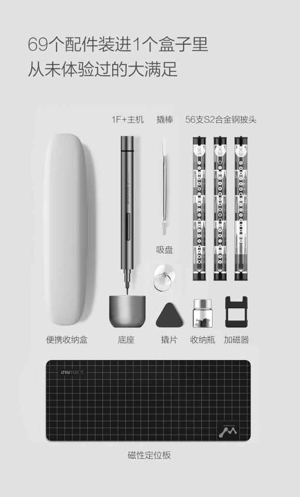 Новая электрическая отвёртка Xiaomi Wowstick 1F