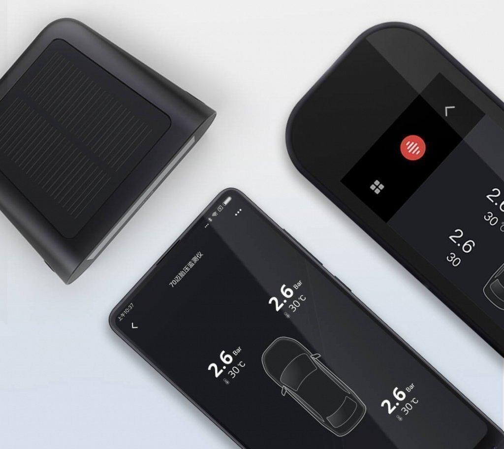 Xiaomi готовит датчик давления вшинах для автомобиля 70 Mai