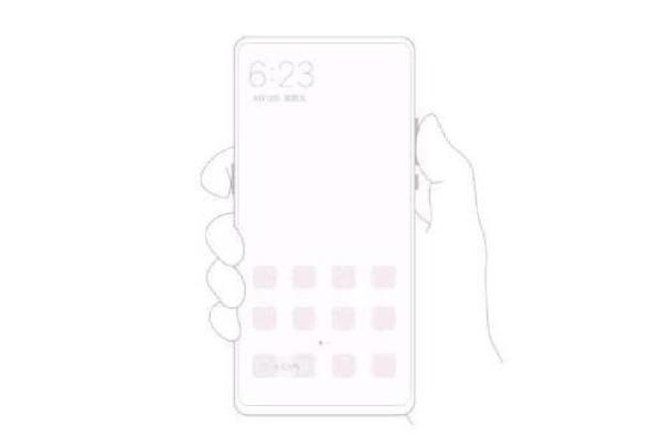 Xiaomi MiMix 3 продолжит уменьшать рамки. Смотрим фото