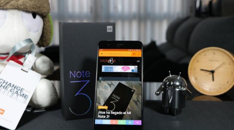 Xiaomi MiNote 3 получит Android Oreo вместе сMIUI 10