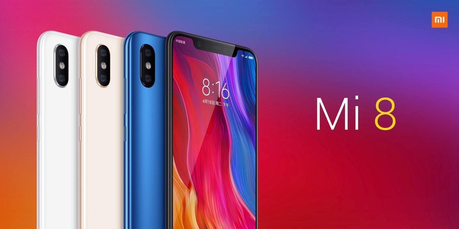 Xiaomi Mi8 получился действительно нафаршированным