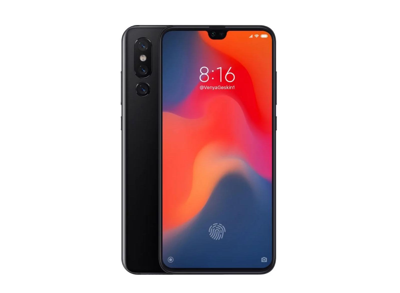 Пора уже обсудить Xiaomi Mi9: рендер испецификации