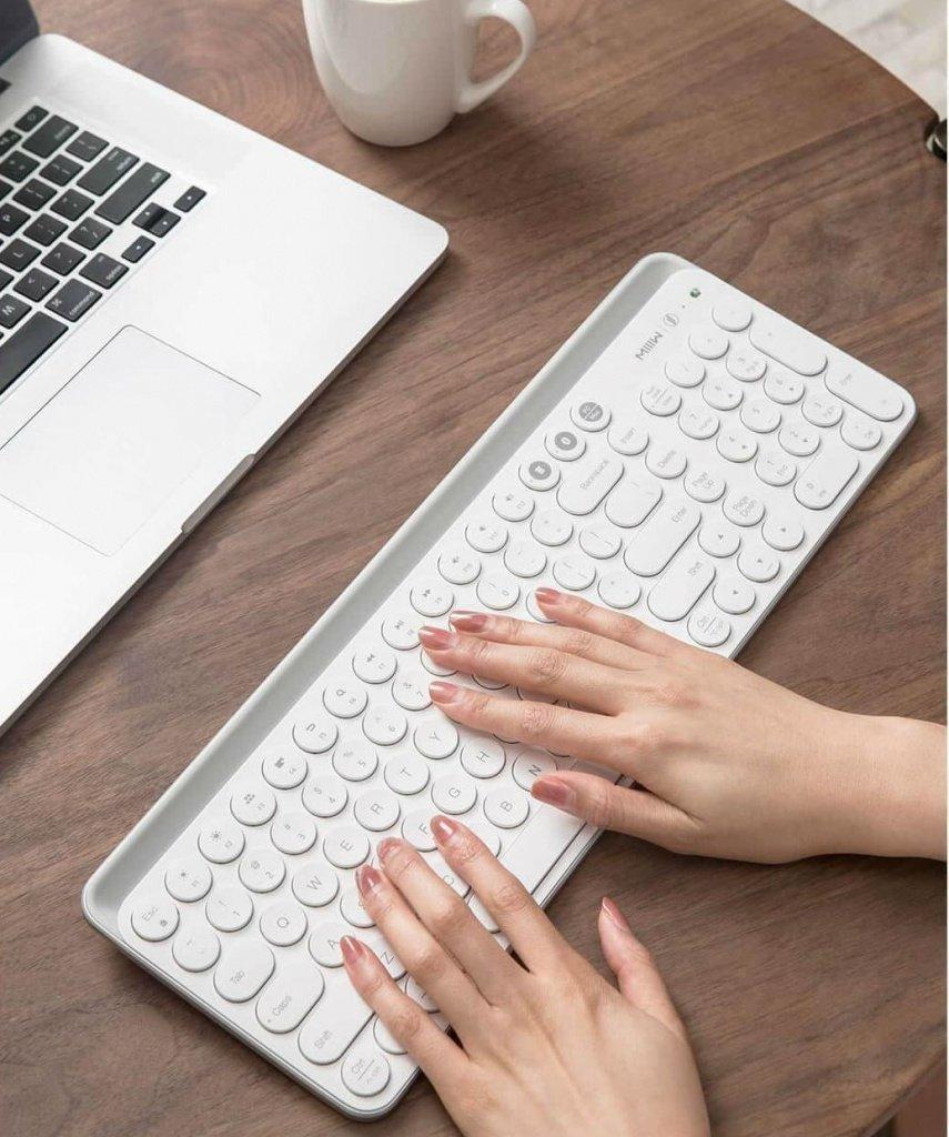 Беспроводная клавиатура Xiaomi MIIIW пополнила портфолио компании