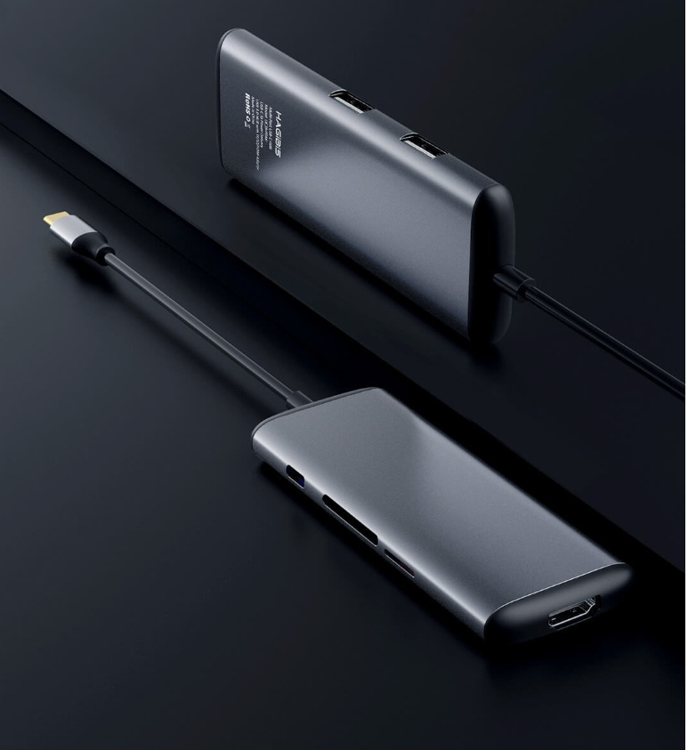 Xiaomi выпустила фирменный кардридер-хаб Hagibis Type-C
