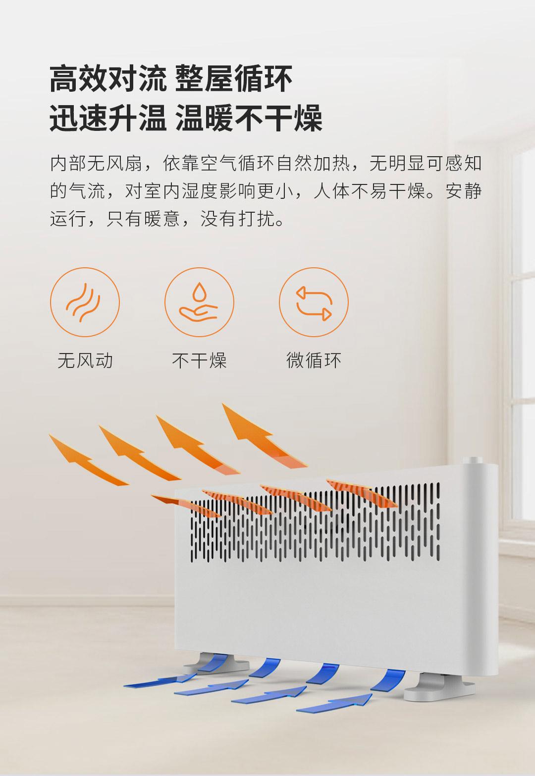 Xiaomi выпускает дешёвый икачественный обогреватель