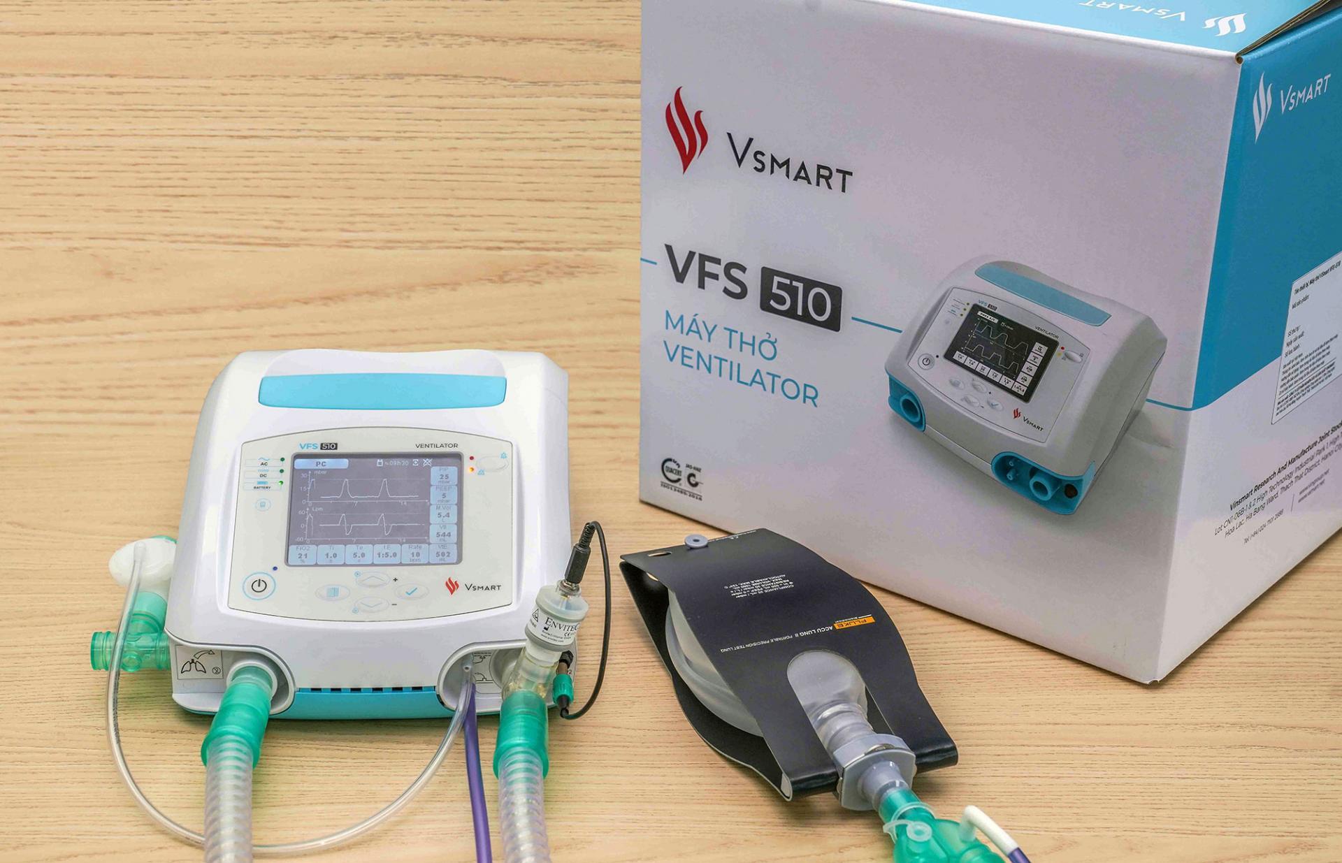 Vingroup направляет 1500 аппаратов ИВЛ для помощи России вборьбе спандемией COVID-19